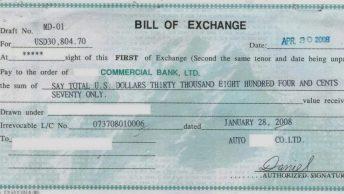 Bill-of-exchange