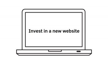 Invest in a new website small company