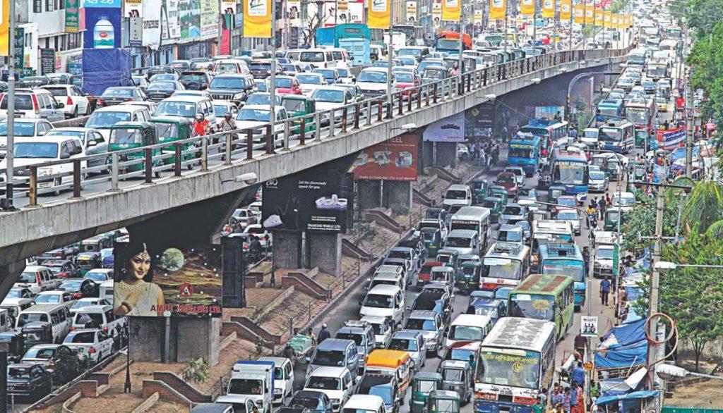 Dhaka roads