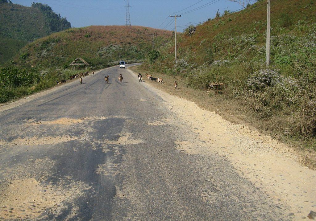 Laos roads